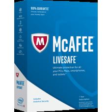McAfee LiveSafe для всех устройств