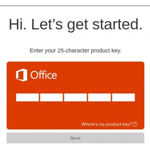 Ключ На Microsoft Office