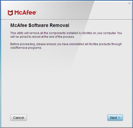 Как удалить McAfee