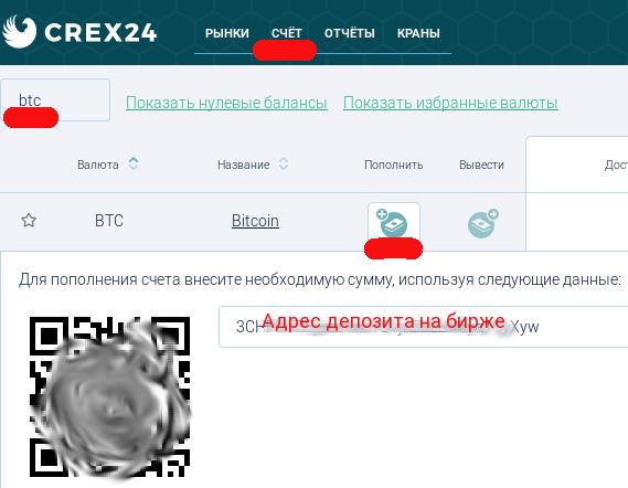 Как открыть депозит на бирже для покупки монет